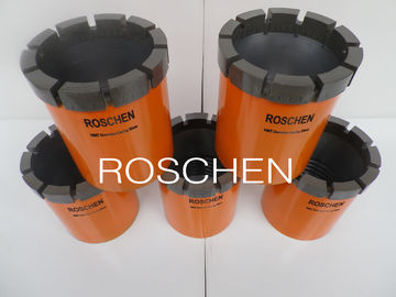 HWT Impregnated Hard Rock Casing Shoe Drill Bits For Exploration Core Drilling